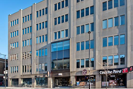 888 de Maisonneuve Est, <small>Montréal, QC</small>
